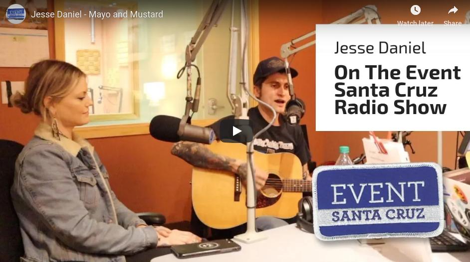 Jesse Daniel Live – Mayo and Mustard