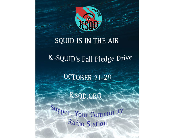 KSQD's Fall Pledge Drive is October 21-28
