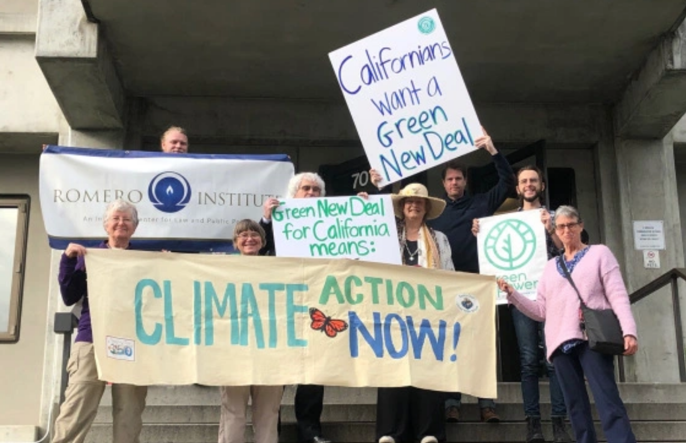 Creating a Vision for the California Green New Deal