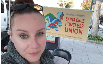 Alicia Kuhl: Post Elections Reflections on Homelessness in Santa Cruz