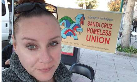 Alicia Kuhl: Post Elections Reflections on Homelessness in Santa Cruz
