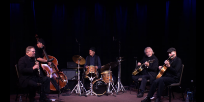 Hot Club Pacific performing at Kuumbwa Jazz Center