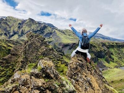 Mara Chapman – Climbing Black's Peak