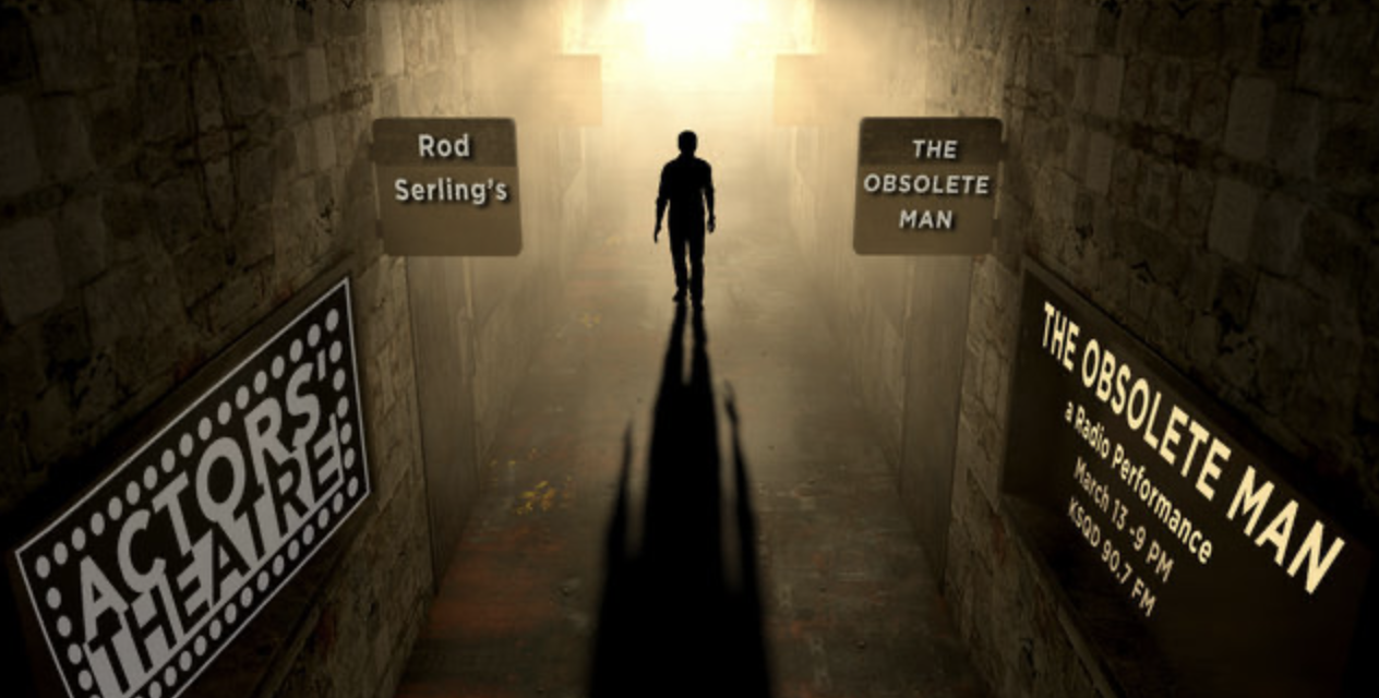 THE OBSOLETE MAN airs March 14