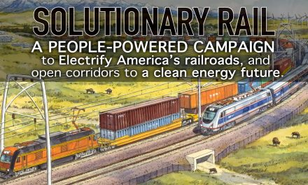 Solutionary Rail – Bill Moyer shares the vision of a win-win-win solution for America's freight and passenger transportation challenges
