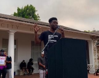 Unheard Voices with Ayo Banjo, president of the UCSC chapter of the NAACP