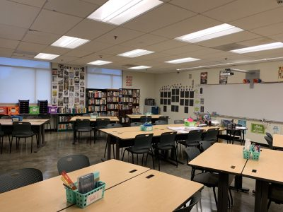 Classrooms ready for students to return