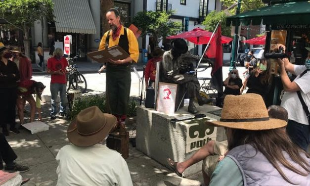Political Report, Tuesday, April 4th, with Chris Krohn: Reclaiming Santa Cruz History and Meaning of May Day
