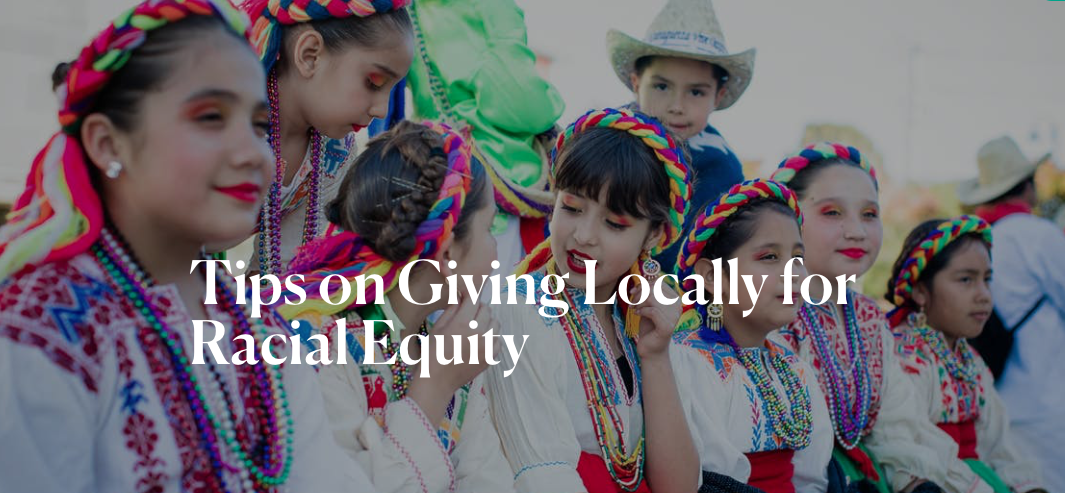 Giving Locally to Support Racial Equity