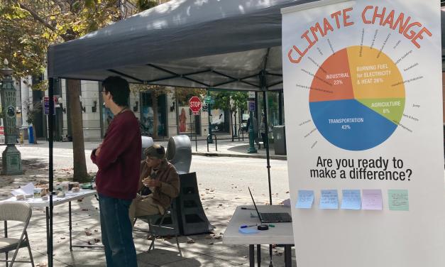 Climate Activist Tyler Maldonado